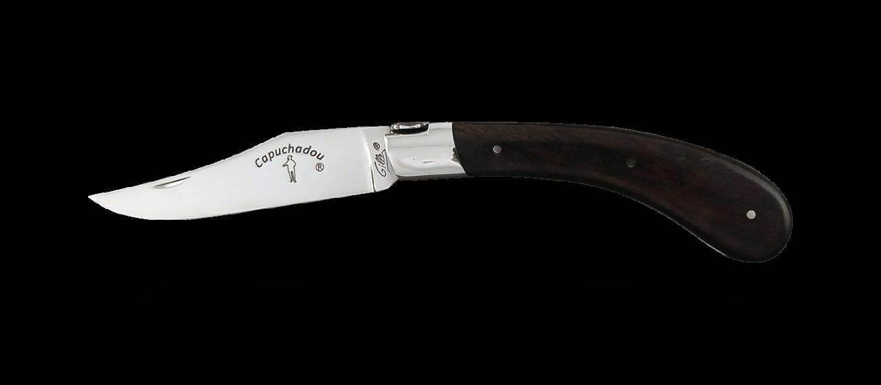"""""""Le Capuchadou®"""" 12 cm hand made knife, Arizona ironwood"""
