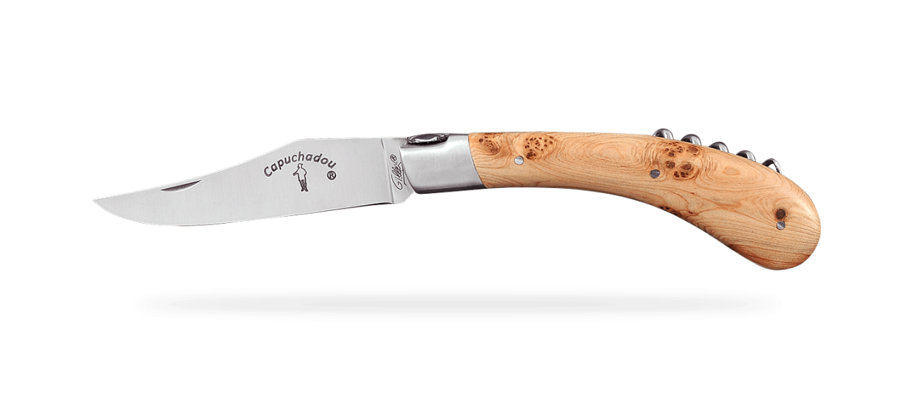 """Le Capuchadou®"" 12 cm Corkscrew, Juniper"
