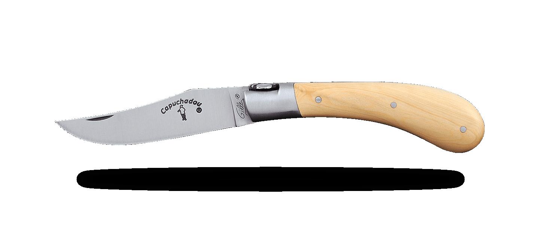 """Le Capuchadou®"" 10 cm hand made knife, Boxwood"