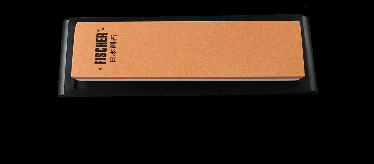 Japanese whetstone with rubber base